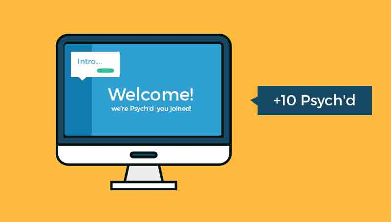 Using Psych'd for User Onboarding