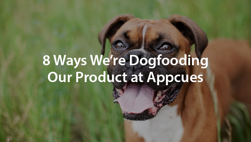 8 Ways We're Dogfooding Our Product at Appcues