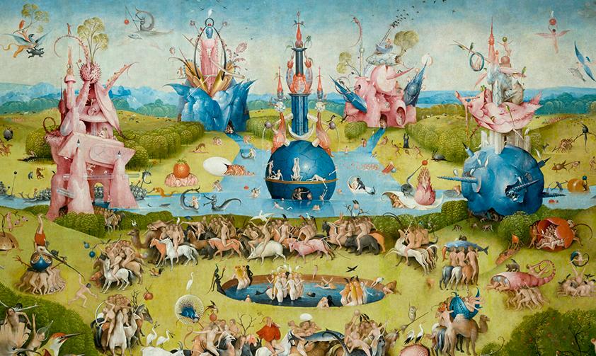 Bosch garden empty state