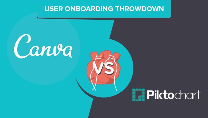 User Onboarding Throwdown: Canva vs Piktochart