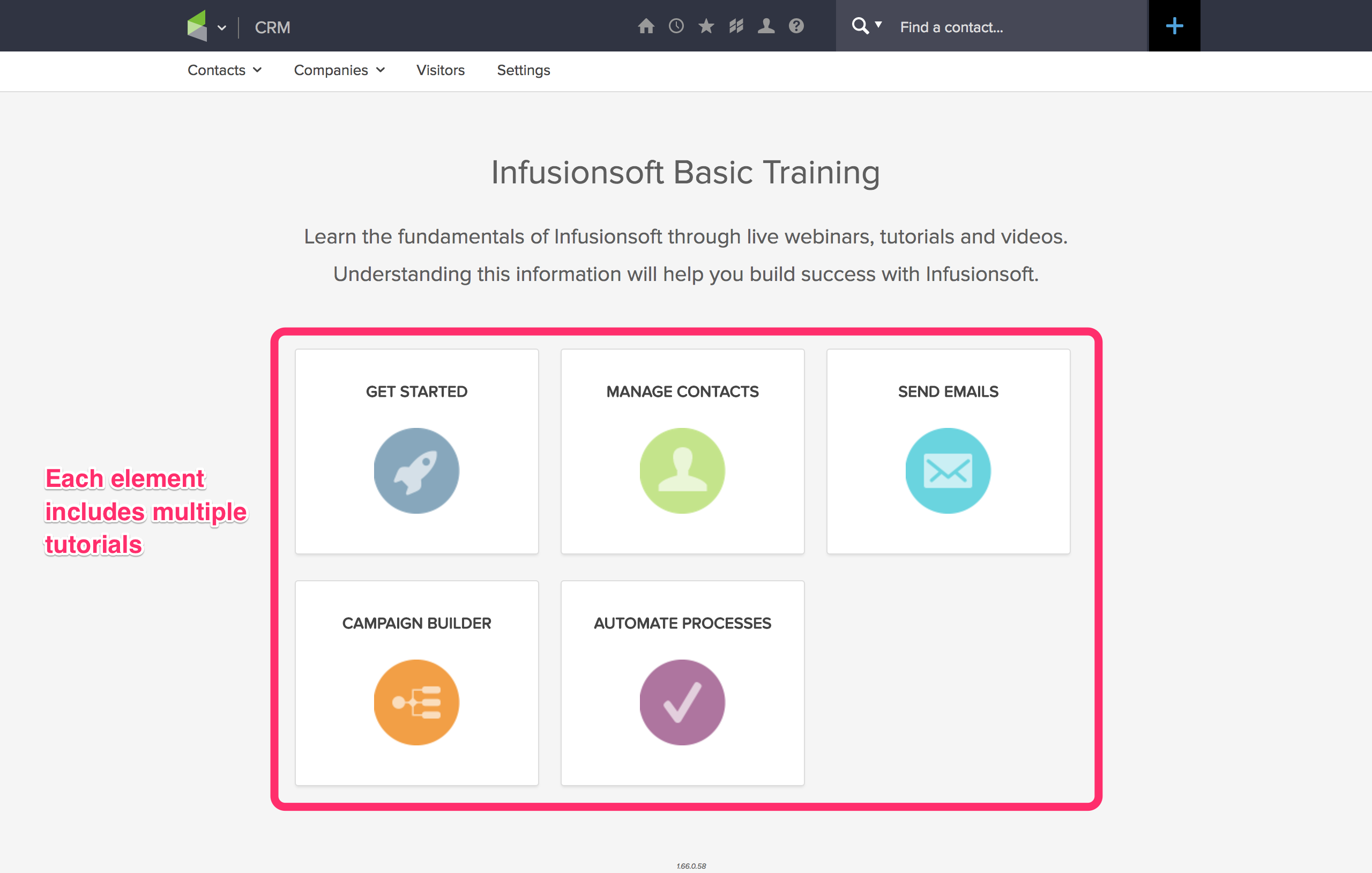 Infusionsoft Trial User Onboarding