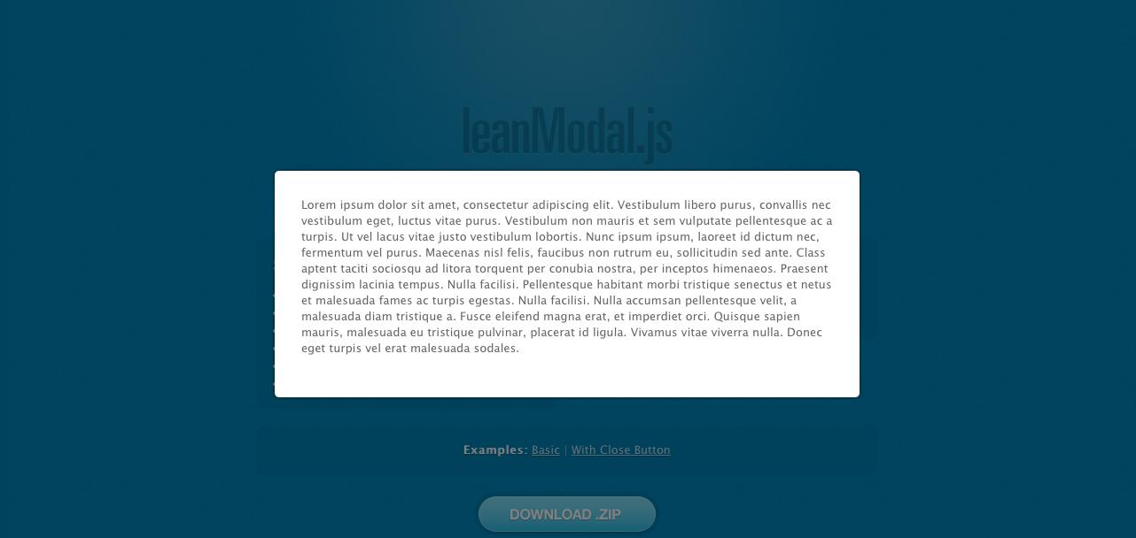 LeanModal