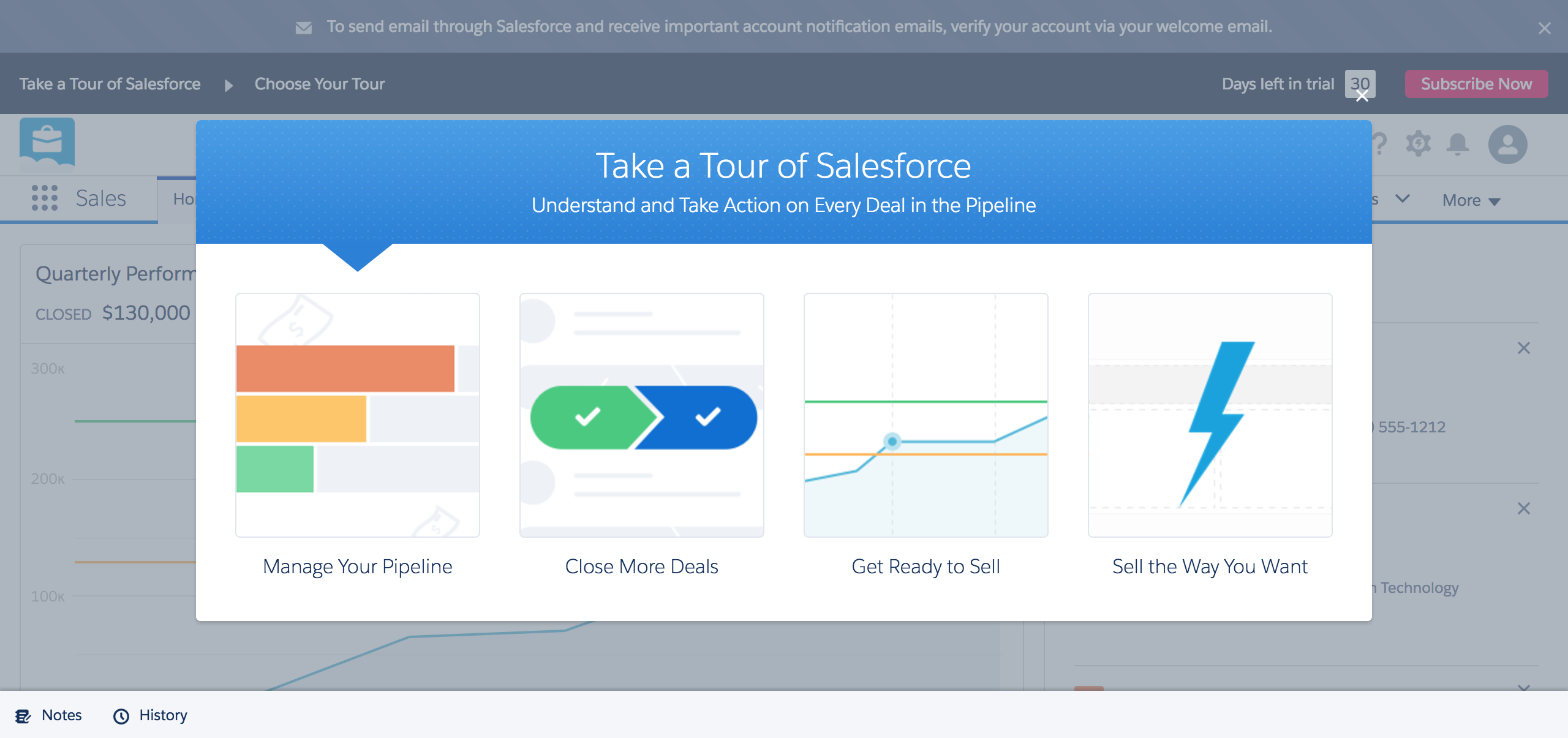 Salesforce onboarding