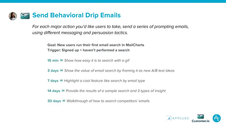 Send Behavioral Drip Emails Customer.io
