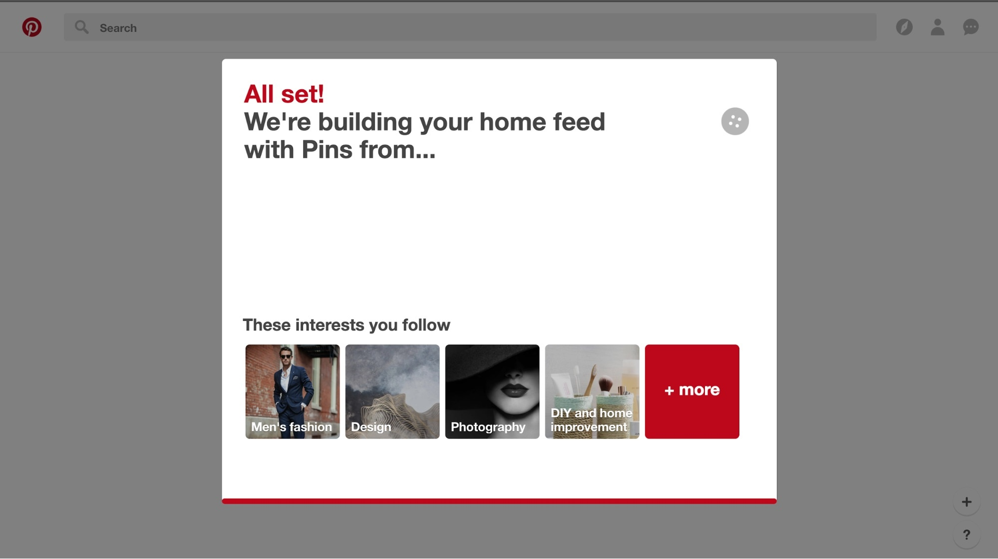building personalized home feed