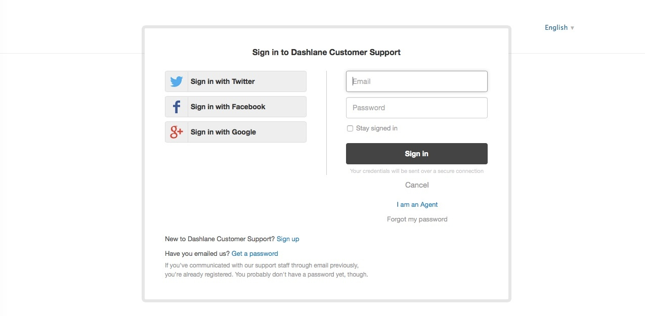 dashlane customer service survey login