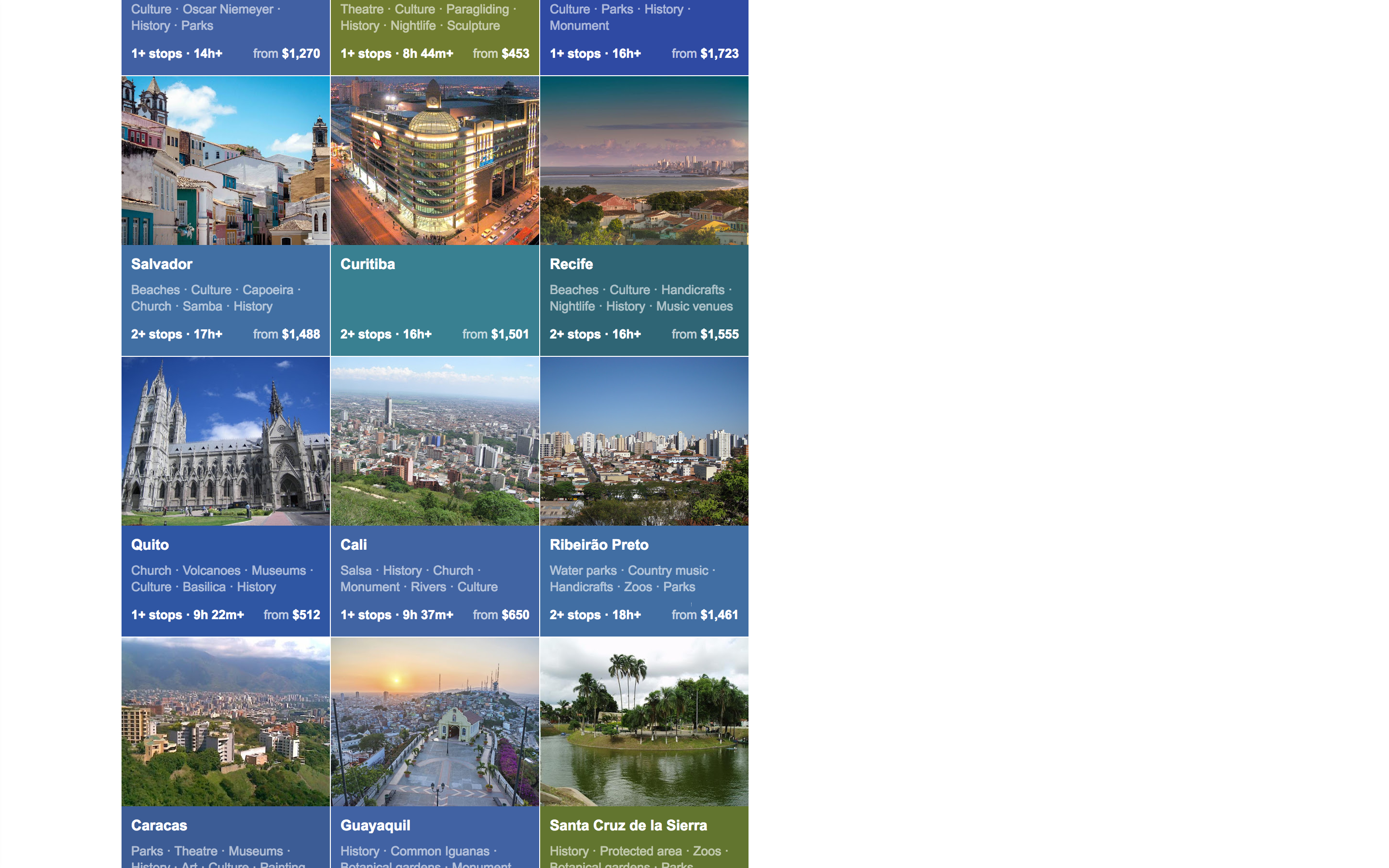 google flights search results 4