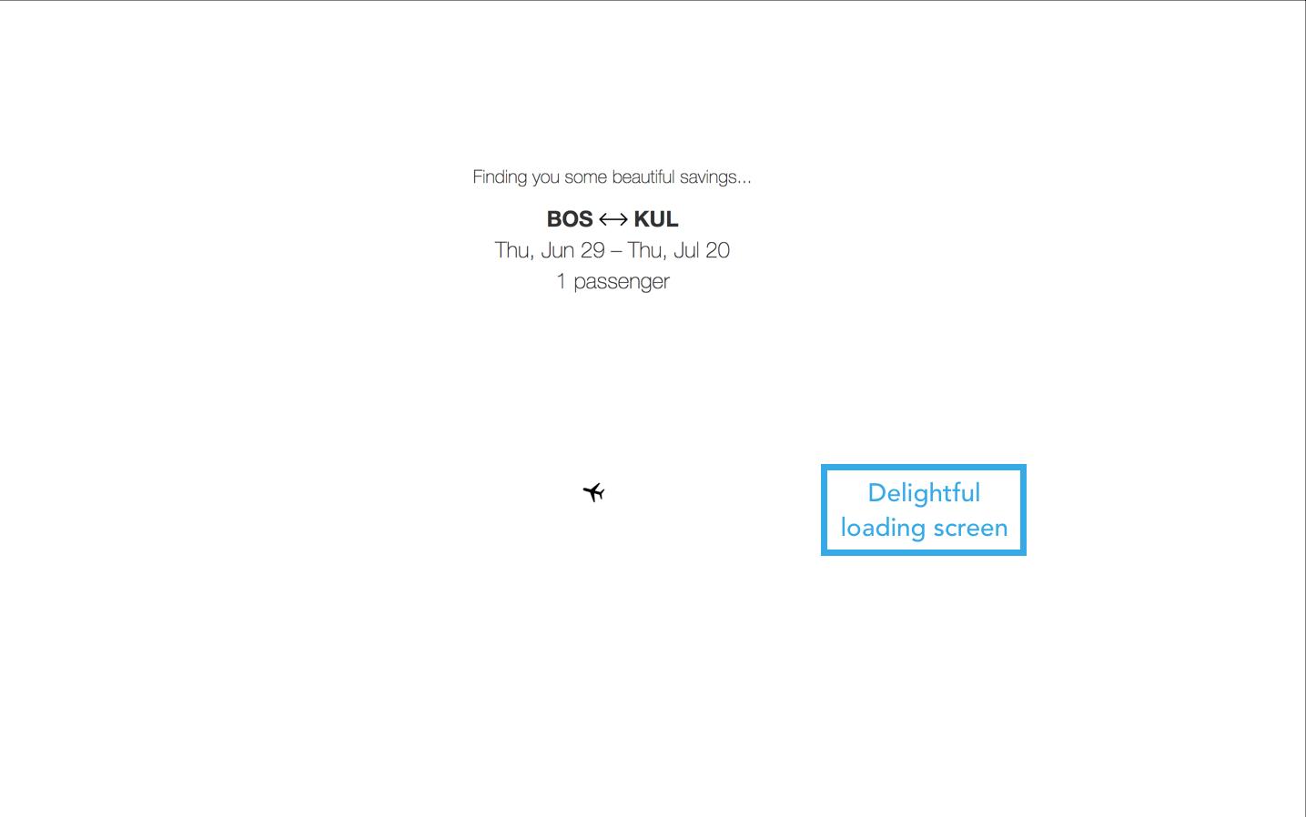 priceline loading screen