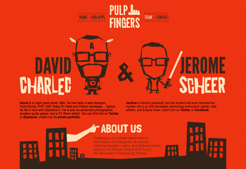 pulpfingers about us