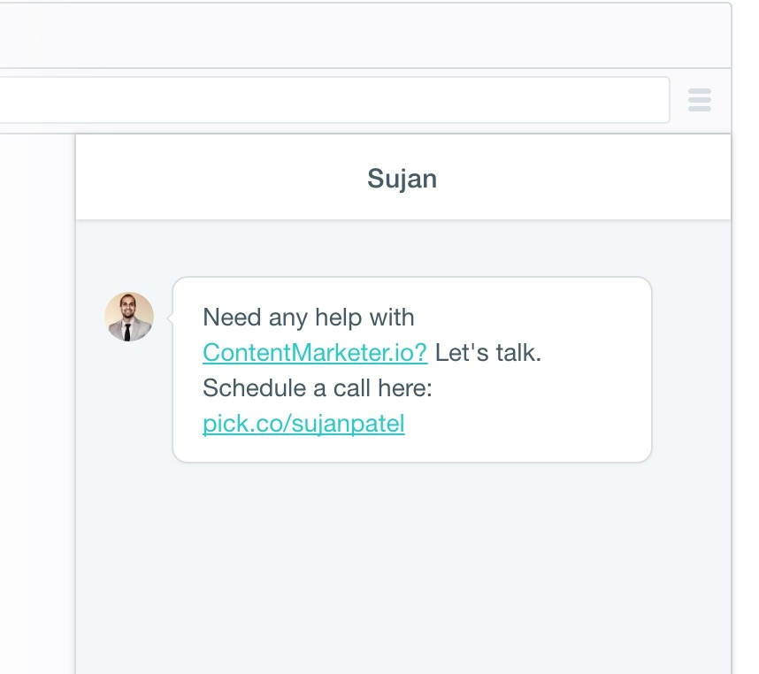 sujan patel intercom prodding new users