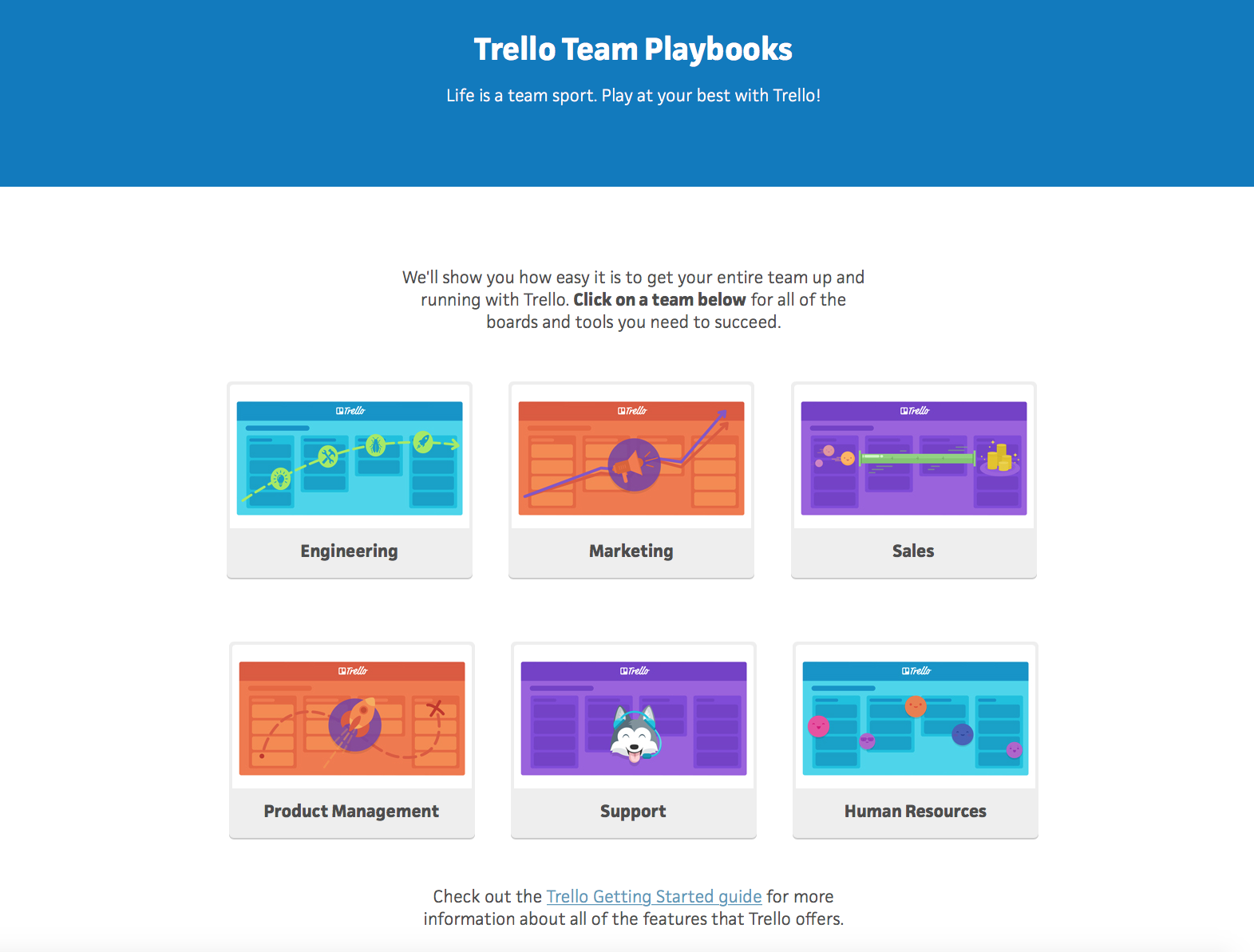 trello playbooks