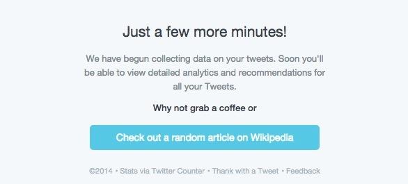 twitter counter loading