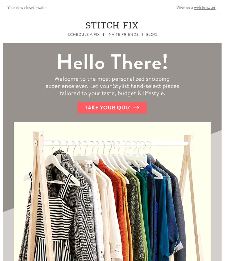 stitch fix personalization email